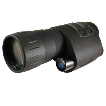 Luna Optics LN-NVM5 5x50 Night Vision Monocular, Gen-1HR Intensifier Tube, Built-in IR illuminator, Rubberized Finish with Ambidextrous Grip