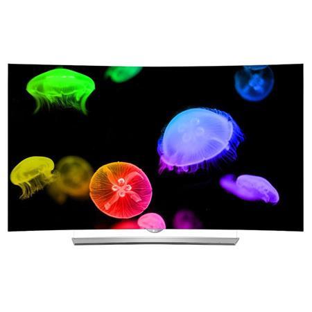 "LG Electronics 65EG9600 65"" Class 4K UHD Smart 3D Curved OLED TV, Magic Remote Control, 3D Glasses Included"