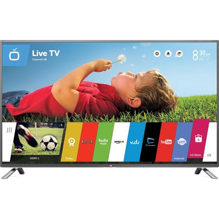 "LG 65LB7100 65"" Class Full HD 1080p Smart 3D LED HDTV, WebOS, MCI 960, Built-in Wi-Fi, 3 HDMI /3 USB2.0, 20W Output Power"