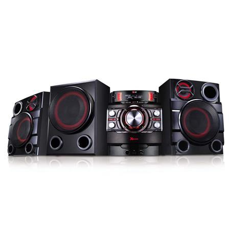 LG Electronics 2.1 Channel Hi-Fi Mini System, Includes 2x Front Speaker, Surround Speaker, Subwoofer - 1900W RMS, Dual USB, Bluetooth, Audio DJ, Easy File Management