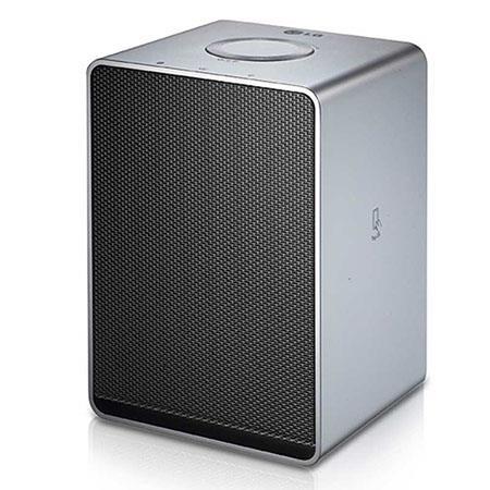 LG Electronics Music Flow H3 Smart Hi-Fi Audio Wireless 30W Multi-Room Speaker, 24bit/192kHz Sampling, Mesh Network, Wi-Fi/Bluetooth, Single