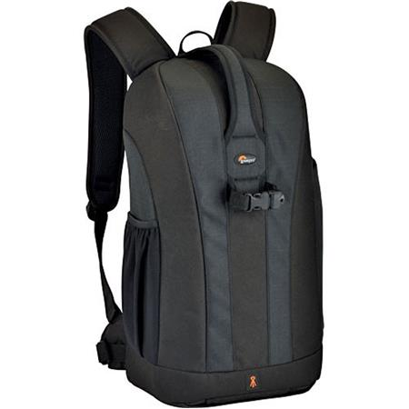 Lowepro Flipside 300 Digital SLR Backpack, Water Resistant with Removable Accessory Pouch, Black