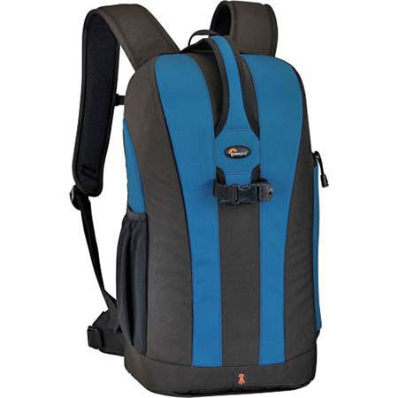 Lowepro Flipside 300 Digital SLR Backpack, Water Resistant with Removable Accessory Pouch, Blue