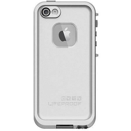 LifeProof Fre Case for iPhone 5, White/Gray