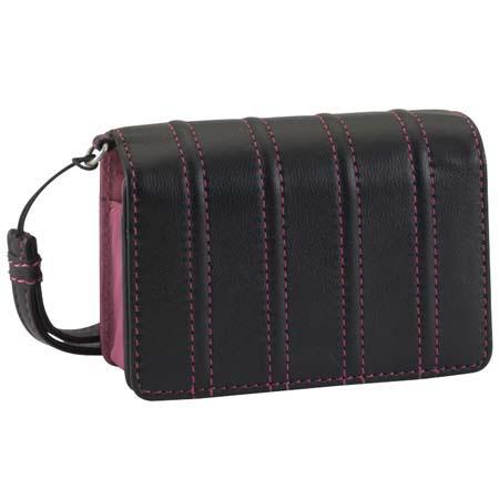 Lowepro Luxe, Premium Leather Pouch for Point and Shoot Cameras - Black