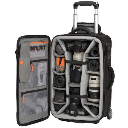 Lowepro Pro Roller x200 Mobile Studio, Padded Divider System Case with Wheels, Black image