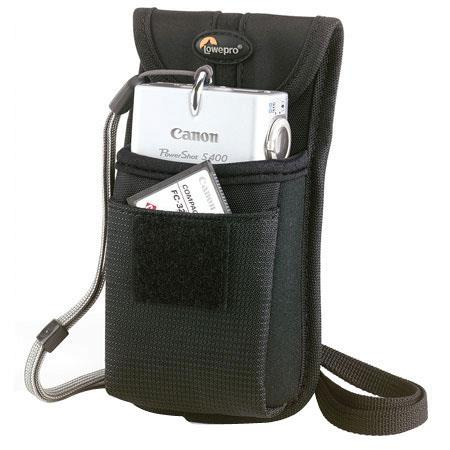 Lowepro Rezo 15 Camera Pouch for Compact Digital or 35mm Point-n-Shoot Cameras, Black