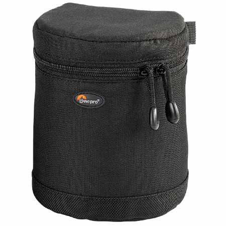 "Lowepro Lens Case 1W, 5"" high x 4"" diameter, Black. image"