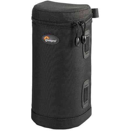"Lowepro Lens Case 2, 8.25"" high x 3.50"" diameter, Black. image"