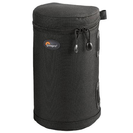 "Lowepro Lens Case 3, 8"" high x 4.50"" diameter, Black. image"