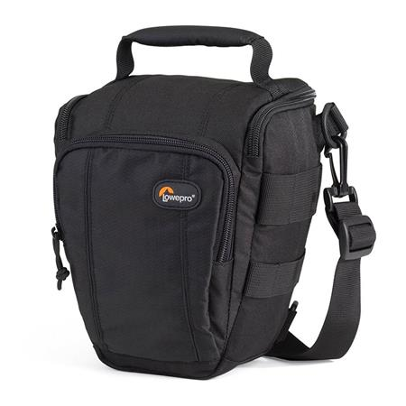 Lowepro Toploader Zoom 50 AW Bag for D-SLR Camera with Attached Lens (up to 17-55mm f/3.5), Black image