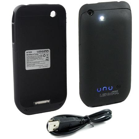 Lenmar BC3GS Lith-Ion Battery 5V / 1300 mAh iBatteryCase - External Battery & Protective Case for iPhone 3G/3GS