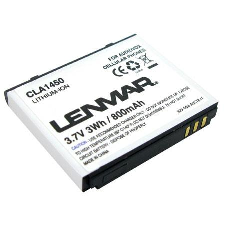 Buy Audiovox Camera Batteries - Lenmar CLA1450 Lithium-Ion 3.7v / 800mAh Battery Fits Audiovox CDM-1450