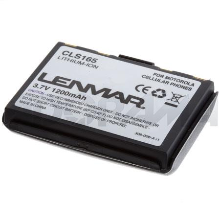 Lenmar No-Memory Lithium-ion MOTOROLA STARTAC 1650mAh Rechargeable Battery for Motorola Startac Series Cellular Phones