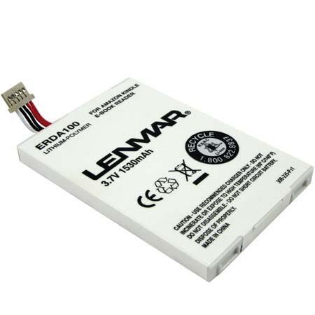 Lenmar Battery for Amazon Kindle Book Reader, 1530 mAh image