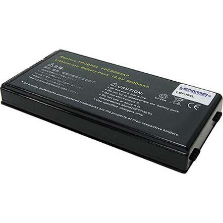 Lenmar No Memory Lithium-Ion Notebook Computer Battery, 10.8V 6600mAh, for Fujitsu LifeBook N3520, N3500, N3511 and LifeBook N3510