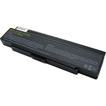 Lenmar No Memory Lithium-Ion Notebook Computer Battery, 11.1V 6600mAh, for Sony Vaio VGN-S1 & VGN-S90 Series