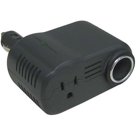Lenmar N-Verter 175 watt Maximum, 140 watt Continuous Compact DC to AC Power Inverter with Extra Socket.