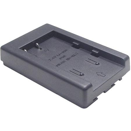Lenmar PNEL3 Charger Adapter Plate for Nikon EN-EL3 & Lenmar DLNEL3 Digital Camera Batteries