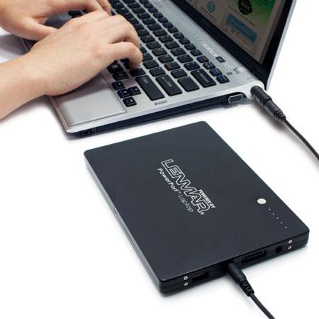 Lenmar PowerPort Laptop Portable External Battery and Charger for Notebook Computers