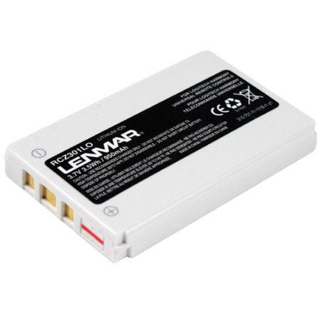 Lenmar RCZ301LO Lith-Ion Battery 3.7V / 950 mAh - Fits Logitech Harmony 720, 785, 880, 885, 890, One Advanced Remote Control