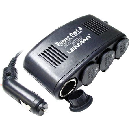 Lenmar SPP04 12V DC Power Port, 4 Socket Car Adaptor image