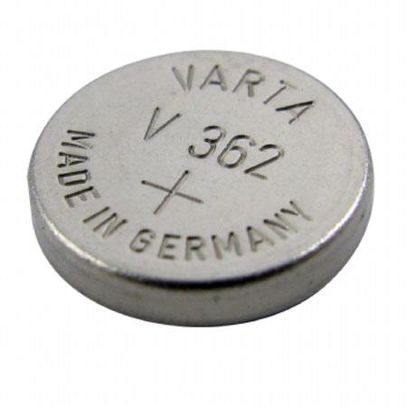 Lenmar WC362 Silver Oxide Battery 1.55V / 25 mAh - Replaces SR721SW Watch Battery