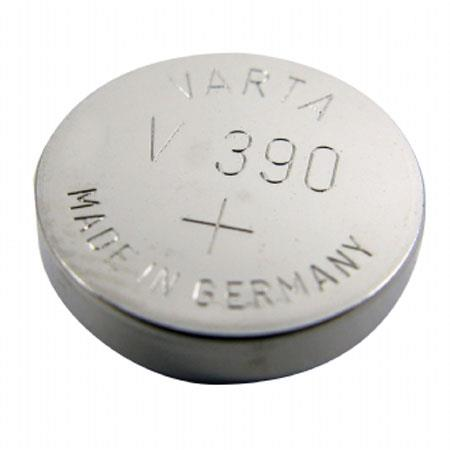 Lenmar WC390 Silver Oxide Battery 1.55V / 80 mAh - Replaces SR1130SW Watch Battery