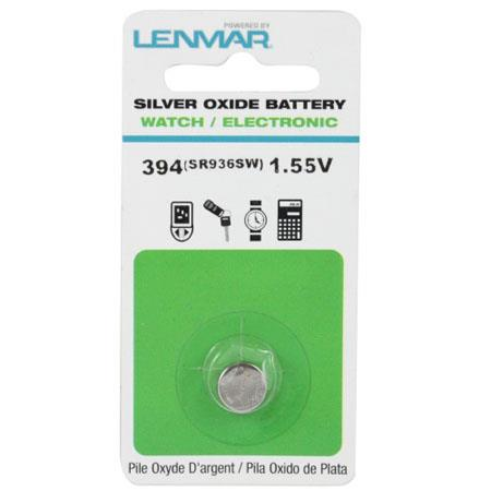 Lenmar WC394 Silver Oxide Battery 1.55V / 70 mAh - Replaces SR936SW Watch Battery