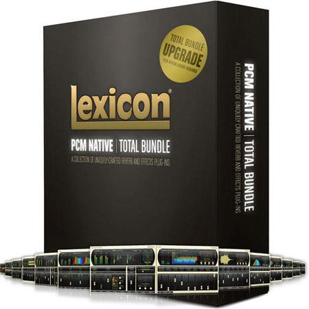 Lexicon PLPCMTOT-U PCM Native Total Plug-In Bundle, Upgrade from PCM Reverb (Electronic Download)