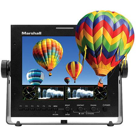 "Marshall Electronics 7.2"" ORCHID Auto-Stereoscopic 3D LCD Field Monitor, 1600x600 Resolution, 600:1 Contrast Ratio, 320cd/m2 Brightness"
