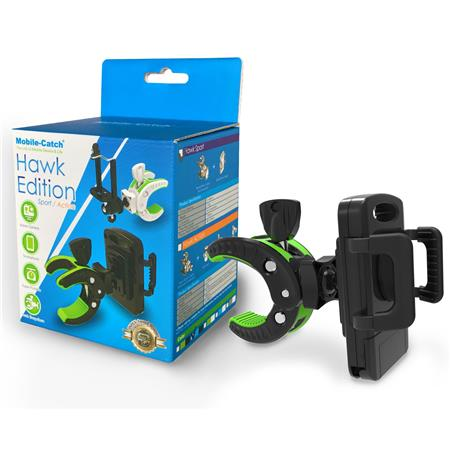 Mobile-Catch Hawk Sports Bike/Vehicle Smartphone Holder, Black