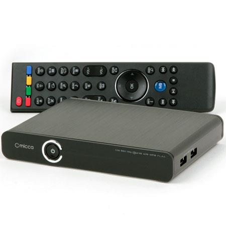 Micca EP600 G2 Full HD 1080p 3D Digital Network Media Player, 512MB DDR2 Memory