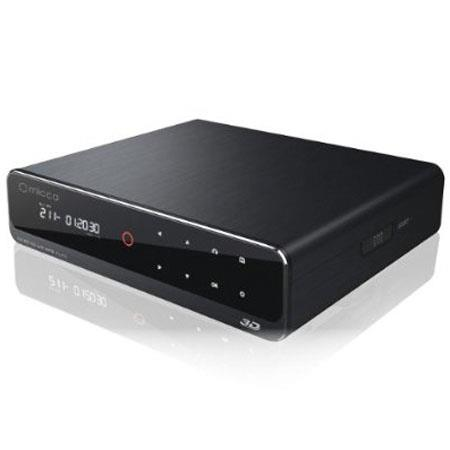 "Micca Full-HD 1080p Network Digital Media Player, 3.5"" HDD Drive Bay"