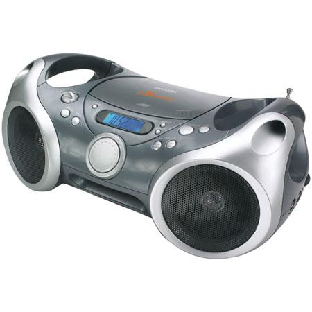 Memorex Portable CD/MP3 Boombox, AM/FM Radio with Digital Display