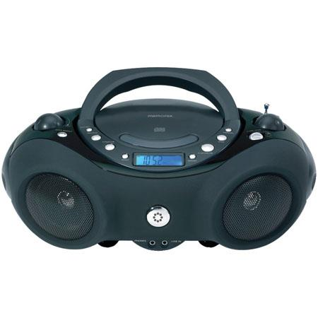 Memorex Portable CD Boombox with AM/FM Radio