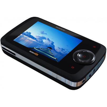 Memory Kick Si 160 GB Data Backup Solution, Photo Viewer & Backup, Video Player, MP3 Player & Card Reader - Black image