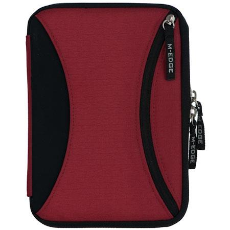 M-Edge Nylon Latitude Jacket for Sony Reader PRS-600 Touch, Red/Black image