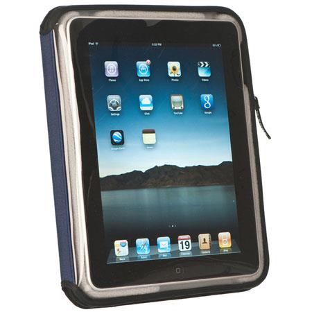 M-Edge Nylon Leisure Jacket for Apple iPad - Navy / Gray
