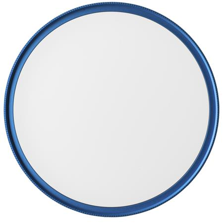 MeFOTO 72mm Lens Karma UV/Lens Protection Filter - Blue Filter Ring