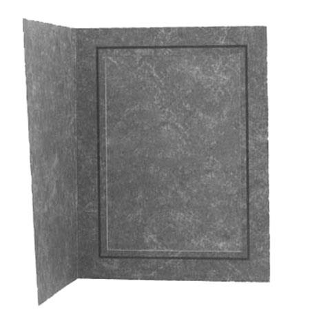 "Adorama Picture Folder Frame, Black Marble with Inner Gold Border, for a 4x6"" Photo (Box Of 100)"