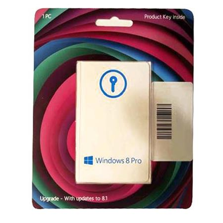 Microsoft Windows 8 Pro Operating System Software, Upgrade Version, Upgrade from XP, Vista and Windows 7, 32/64-Bit