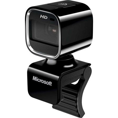 Microsoft LifeCam HD-6000 Webcam for Business