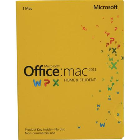 Microsoft Office for Mac Home and Student Edtion 2011 - Product Key
