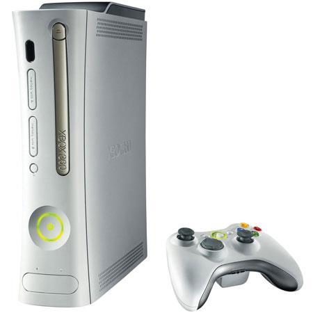 Microsoft Xbox 360 Platinum System. image