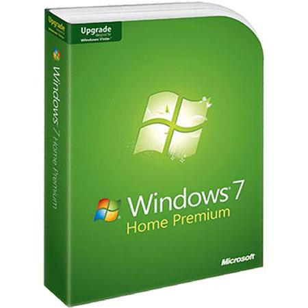 Microsoft Windows 7 Home Premium Software, Upgrade from XP or Vista