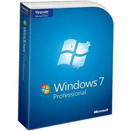 Microsoft Windows 7 Home Professional Software, Upgrade from XP or Vista