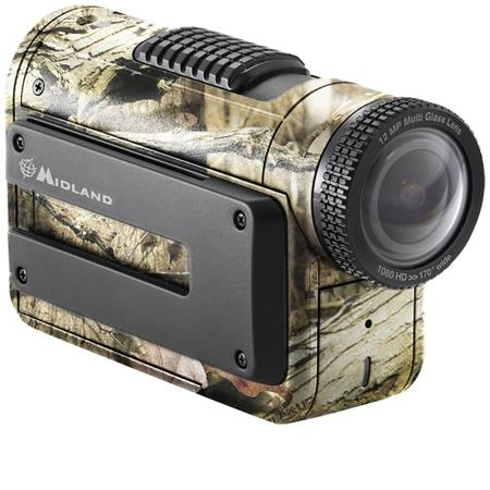 Midland 1080p Full 1080P HD Action Camera with Built-In Wi-Fi