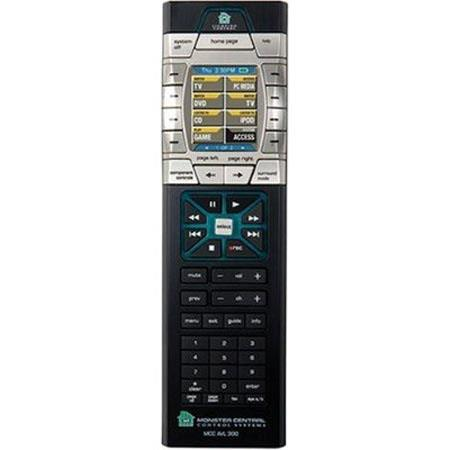 Monster MCC AVL300-S Home Theater & Lighting Remote Controller 300 With Omnilink image