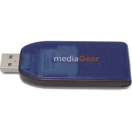 MediaGear XtraDrive, Flash Media Reader / Writer for Memory Stick & Memory Stick Pro Cards.